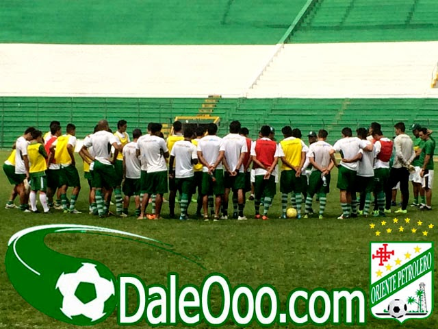 Oriente Petrolero - Entrenamiento Estadio Ramón Tahuichi Aguilera Costas - DaleOoo.com sitio del Club Oriente Petrolero