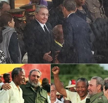 Controversy over Raul Castro - Obama handshake