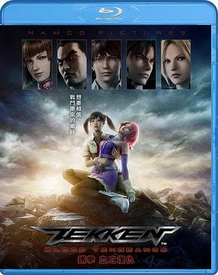 Tekken Blood Vengeance 2011 SWESUB DVDRip XviD-CrilleKex