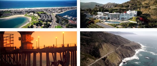 Beach, boardwalk and mansion locations for The Heirs.