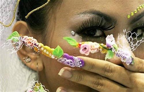 Lilo 3d nail art 3d nail art prinsesfo Images