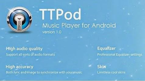 TTPOD Music Untuk Android