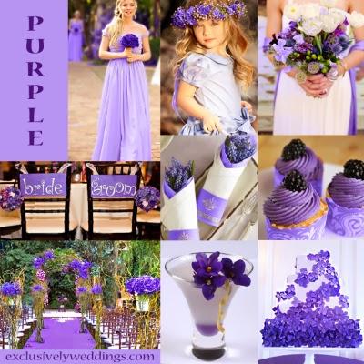 WeddingsByMelB: Wedding colors-PURPLE