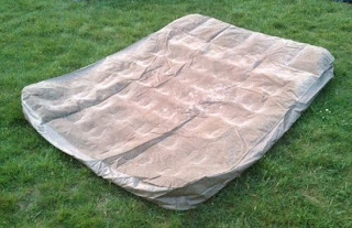 deflated air matress