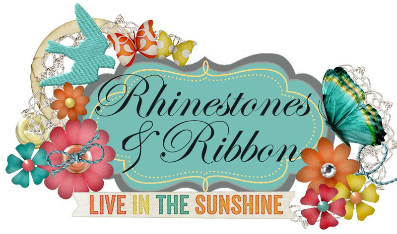 Rhinestones and Ribbon