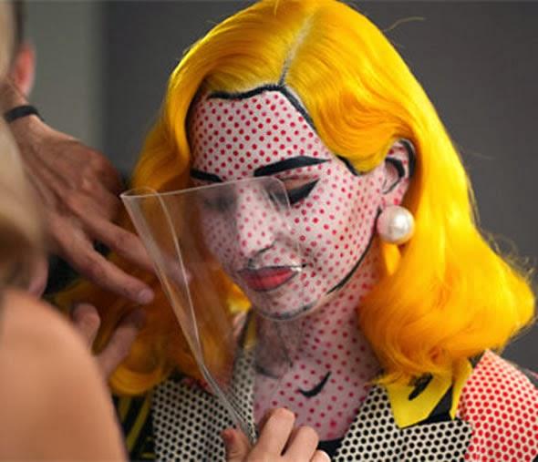 Comic book makeup tutorial
