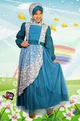 Butik baju pesta anak gamis anak branded aini dan aliza Baju gamis anak aliza