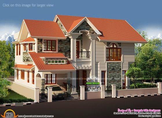 Western style spacious house
