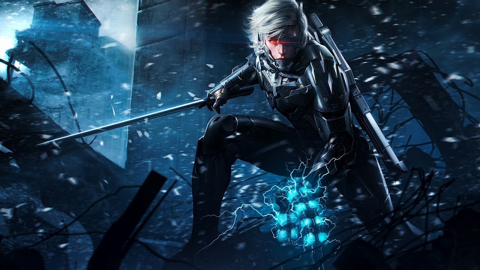 Metal Gear Solid Rising Wallpapers Metal Gear Rising: Revengeance Wallpapers in HD