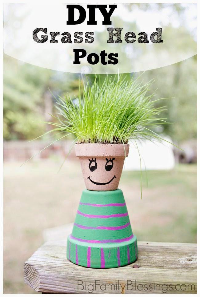 Grass Pot heads