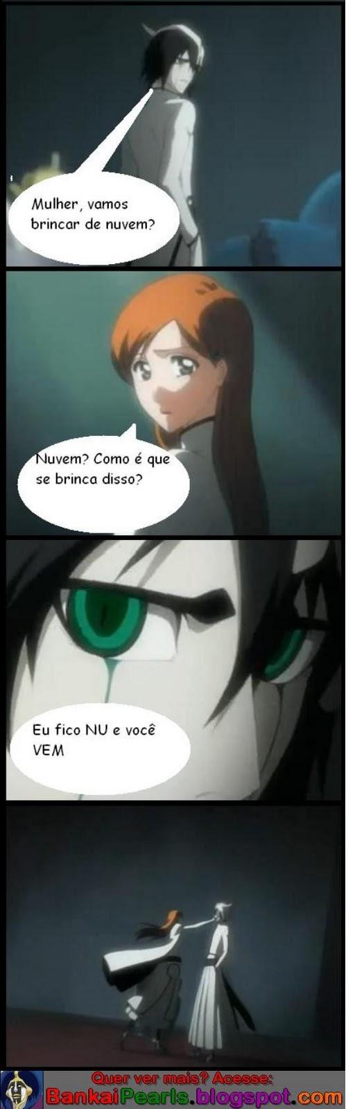 Tirinha Ulquiorra e Orihime [+12] Piadas+Bleach+2