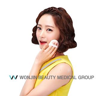 kontur wajah wonjin