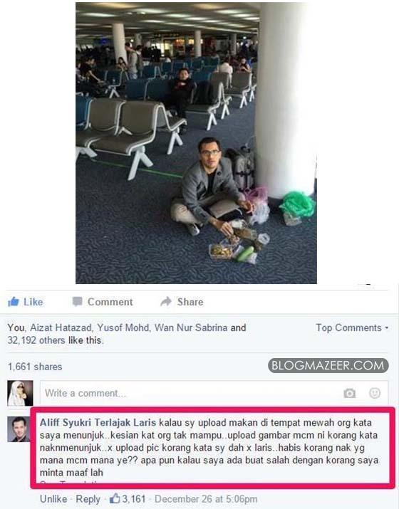 Luahan Datuk Aliff Syukri Dikecam Akibat Kongsi 'Kemiskinan'