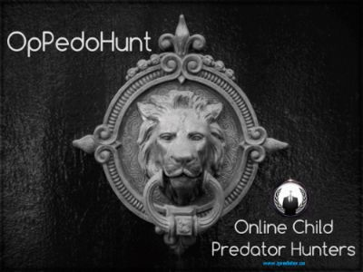 #OpPedoHunt #Anonymous
