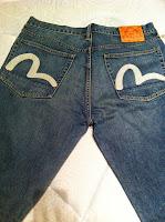 rare evisu jeans size 36