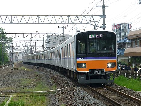 【TJライナー前のバイト運用だ!】東武東上線 準急 池袋行き 50090系