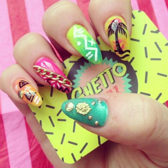 Miles de Diseños de Uñas: Diseño de uñas de Verano