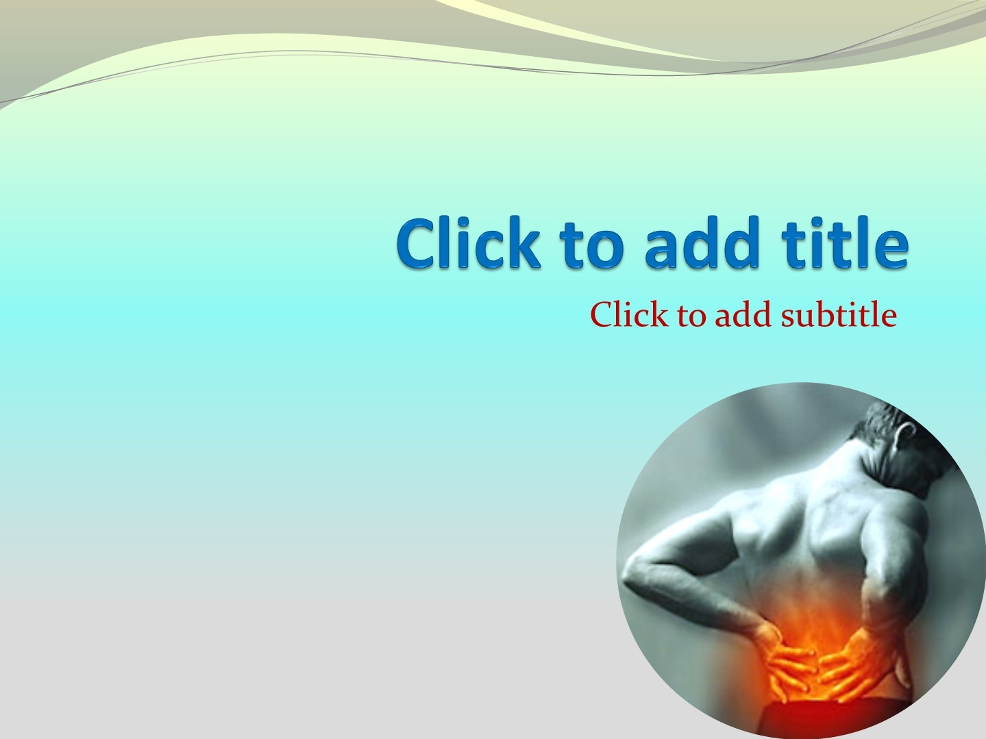 Orthopedics rheumatology powerpoint template free download this is an orthopedics rheumatology powerpoint template this medical powerpoint background shows a picture of a person with back pain toneelgroepblik Image collections
