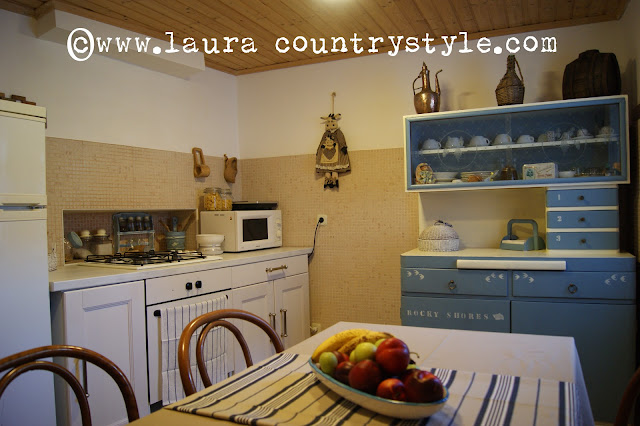 Laura country style welcome in our kitchen - Mobile copricaldaia ikea ...
