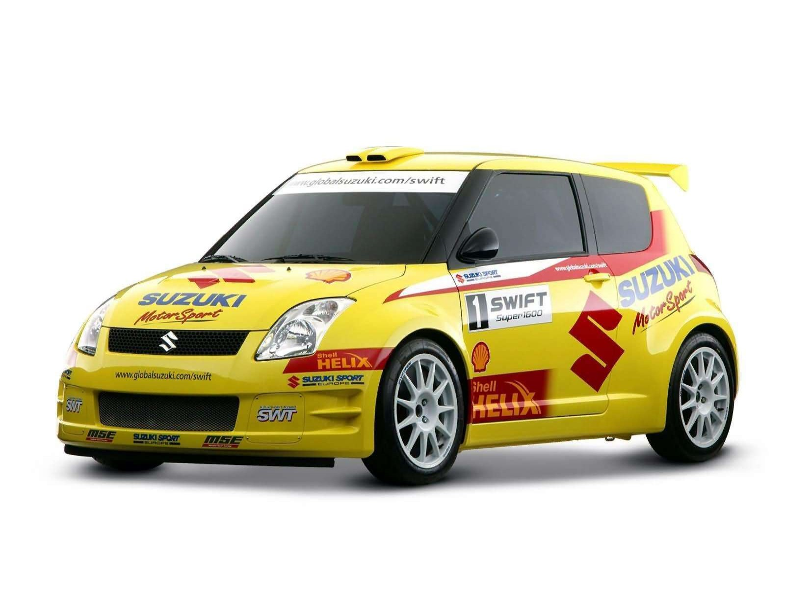 Suzuki Swift Rally Car 2005 on 1983 alfa romeo giulietta