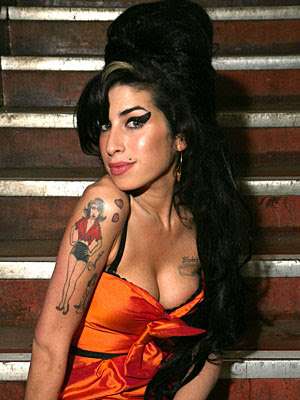 Amy Winehouse  rocks