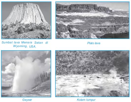 Kenampakan Alam Vulkanik