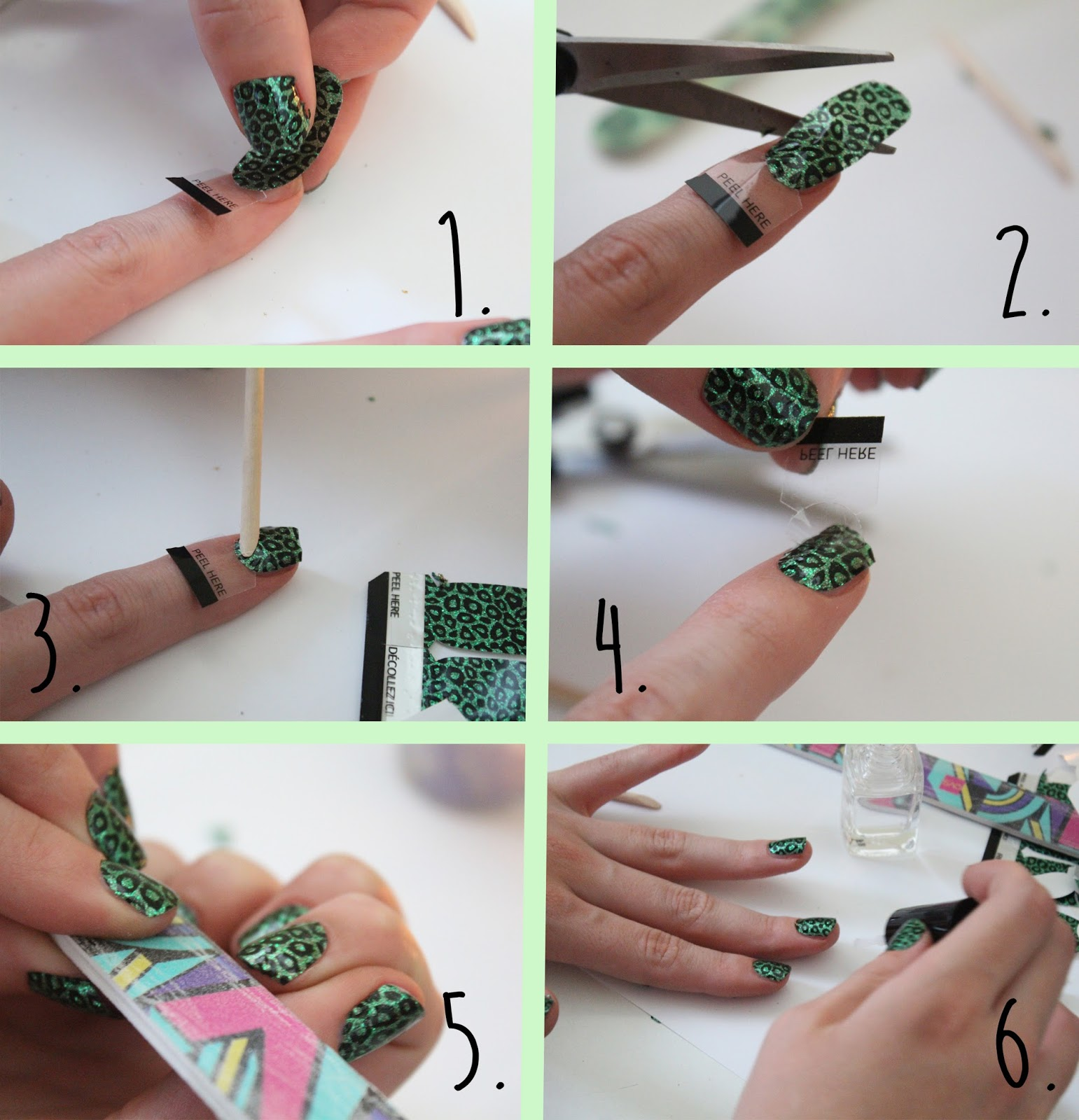 How to use Revlon Nail Stickers