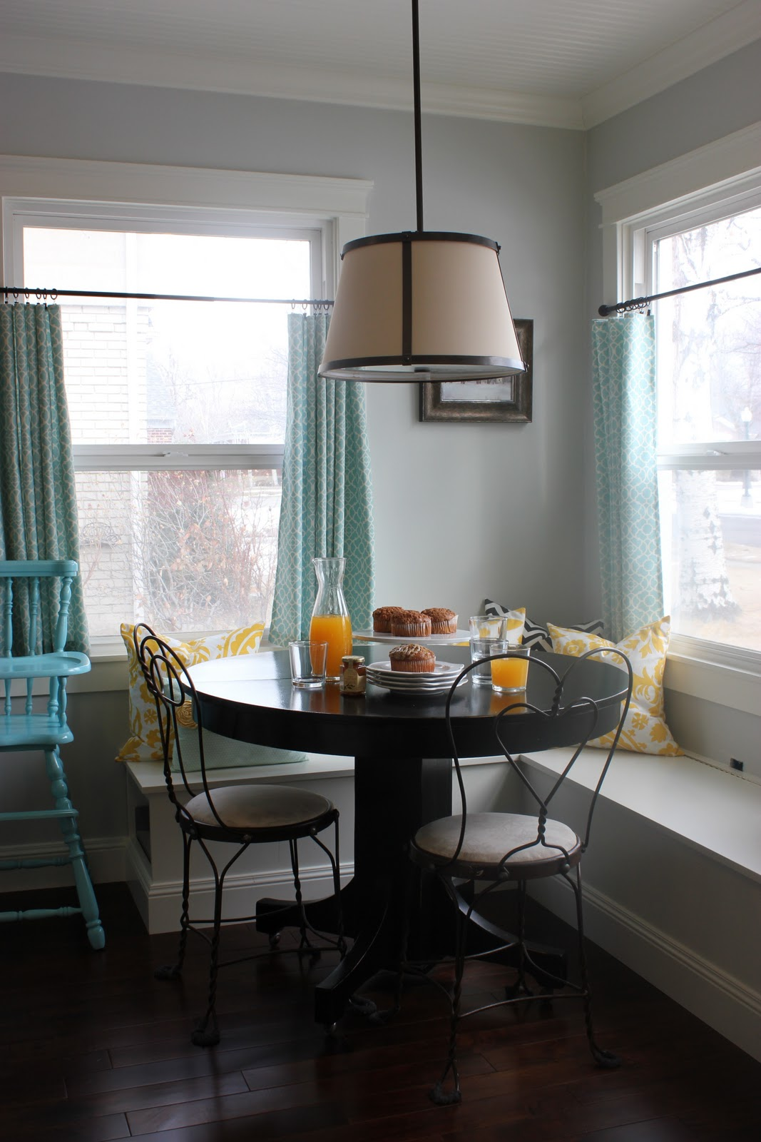 A Tree Lined Street Breakfast Nook Sneak Peek