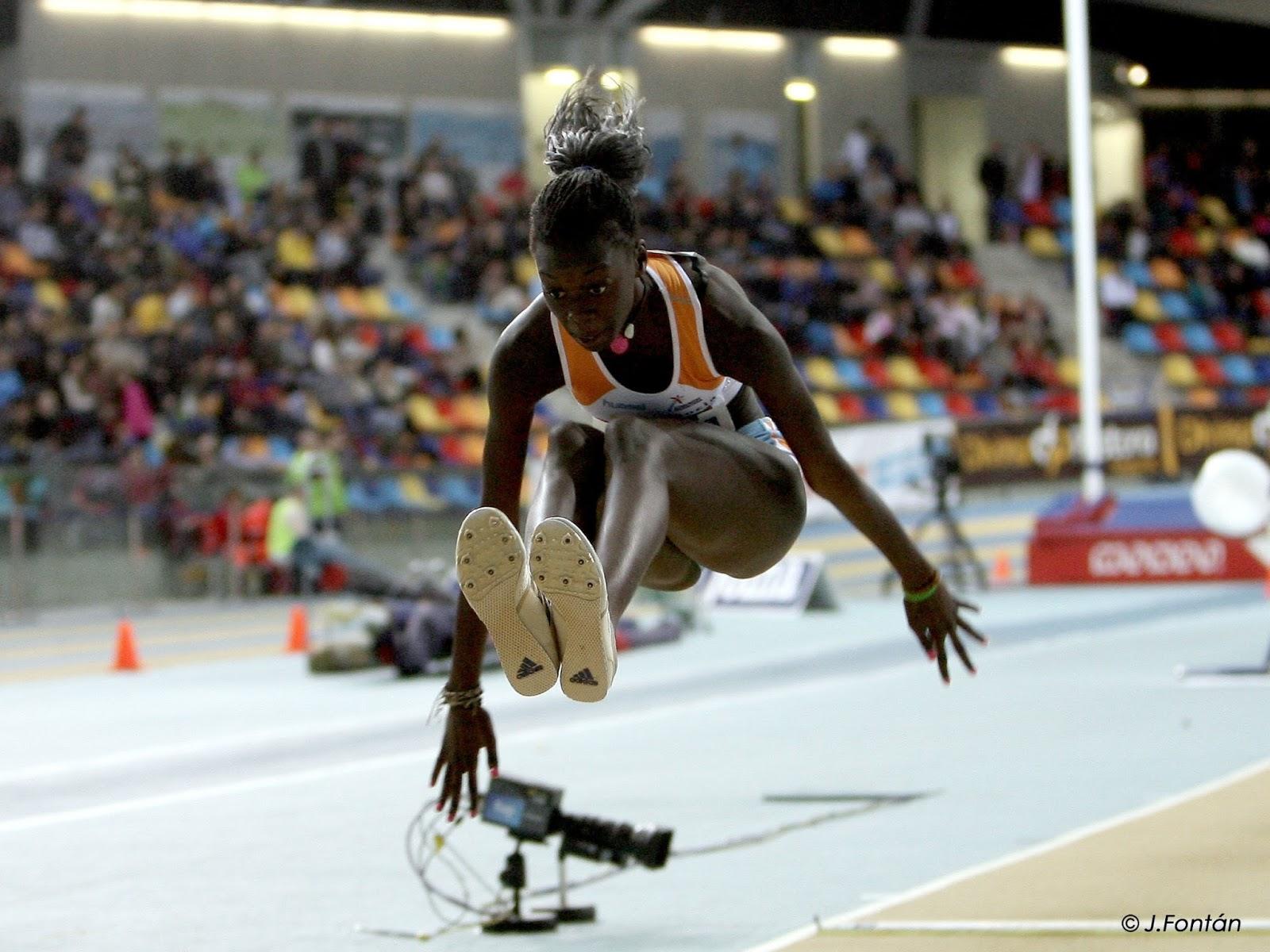 Fatima diame cuerpazo del atletismo 5