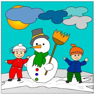 Dibujos de invierno