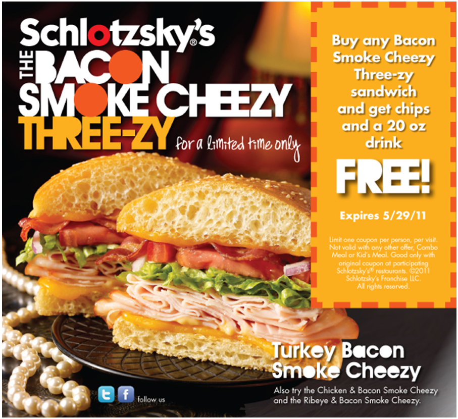 Schlotzsky's coupons printable 2018