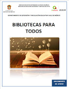 Bibliotecas para todos 2017 DEyVE