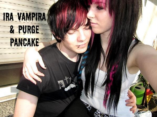 Dating a emo girl