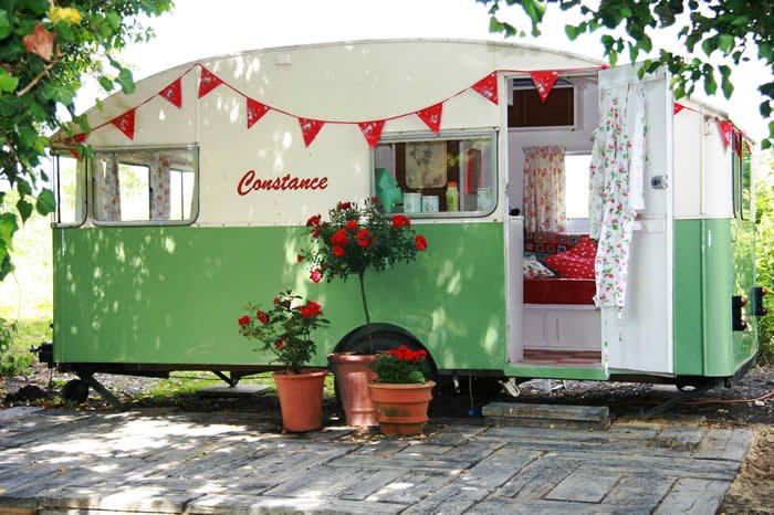 Wonderful Above Vintage Caravan Style  Replacing Worn And Musty Old