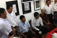Burmese Anmesty Art Show – လြတ္လပ္ျငိမ္းခ်မး္ခြင့္ ပန္းခ်ီျပပြဲ က်င္းပ