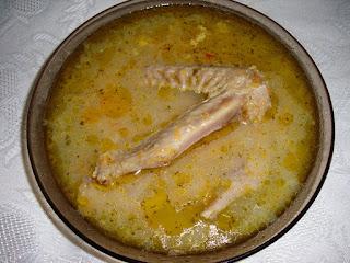 Супа от патешки крила