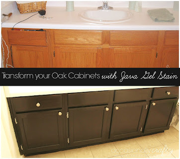 Transform Your Cabinets With Gel Stain