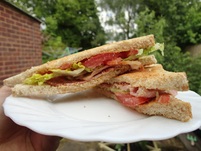 A rather yummy Toasted BLT, who wants one right now?