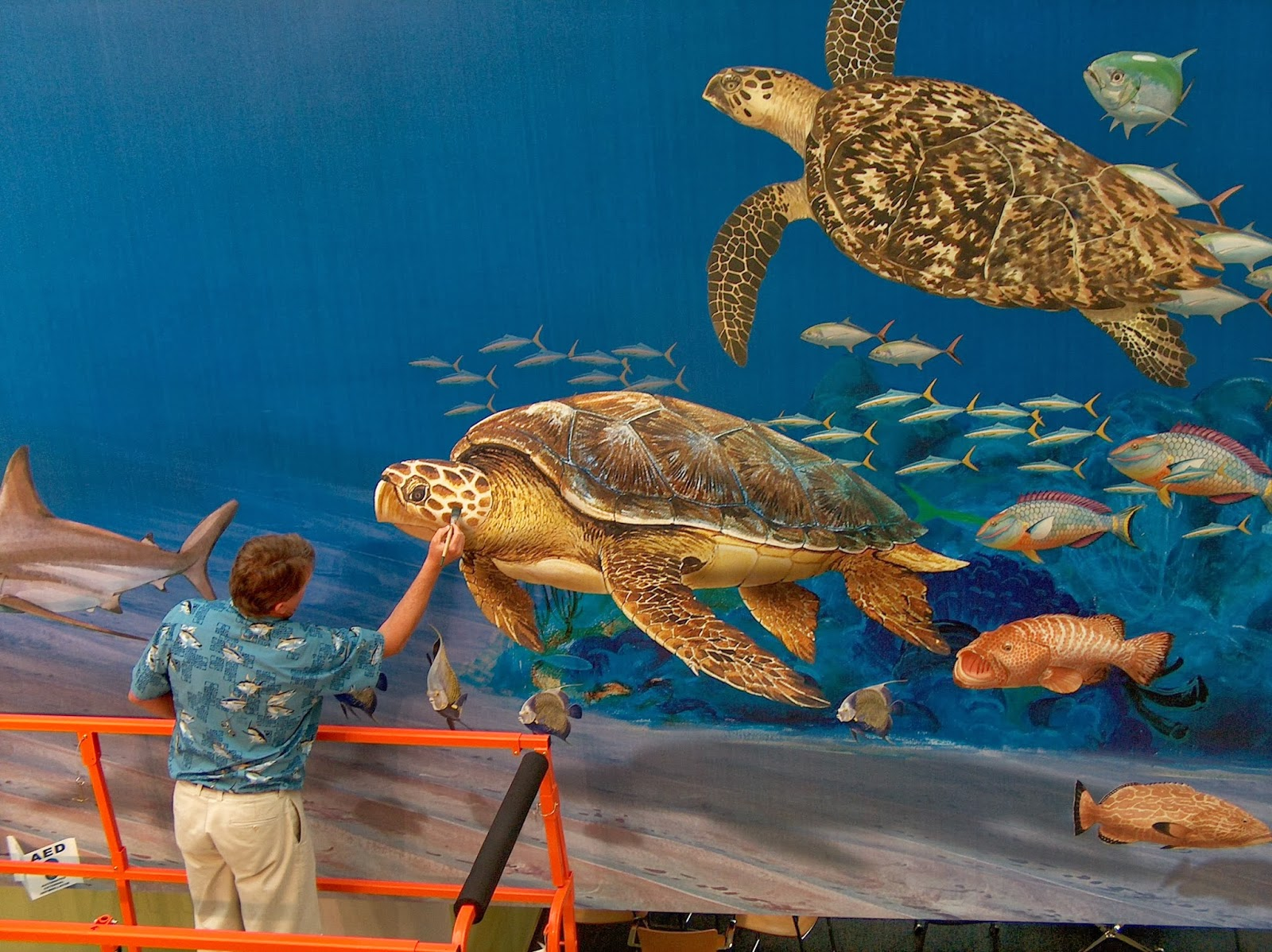 biography and artwork of guy harvey Wyland headlines 08/31/2016 world  george c schellenger takes you into the world of sharks through the eyes of wyland, guy harvey and jim  wyland artwork to.