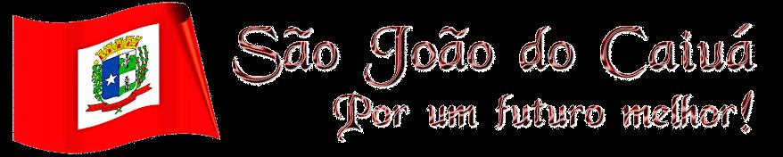 São João do Caiuá - Por um futuro melhor