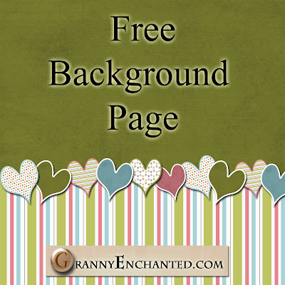 Free Background Page Digital Scrapbook JPG File 49 GE