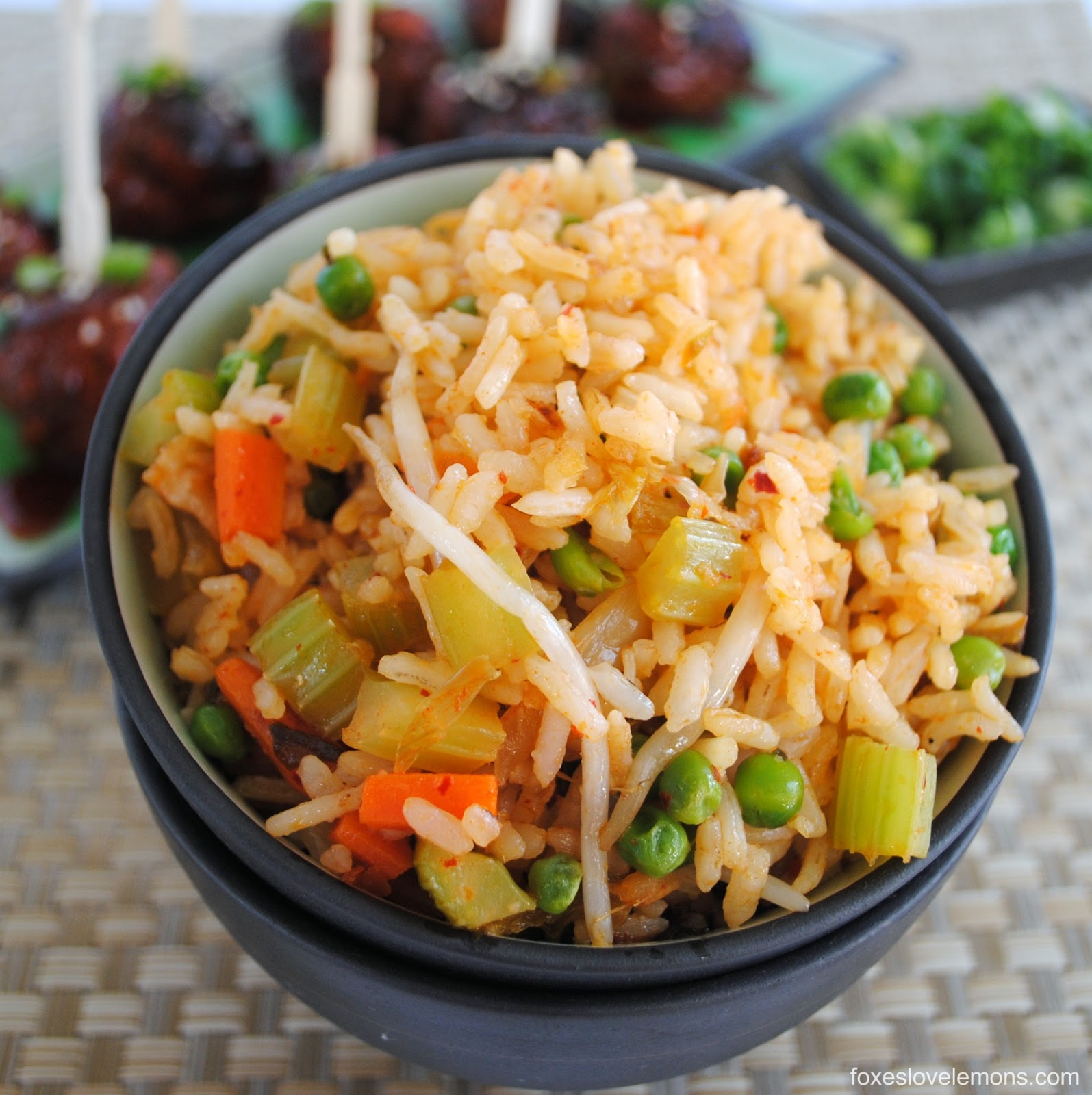Kimchi Fried Rice - Foxes Love Lemons