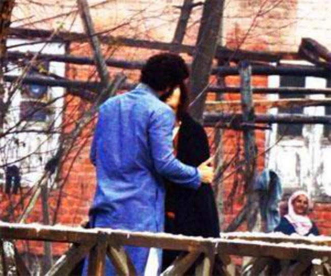katrina kaif and aditya roy kapoor lip kiss in fitoor movie