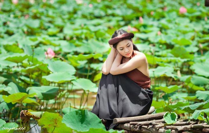 Thai nha van lo nhu hoa 038 Trọn bộ ảnh Thái Nhã Vân lộ nhũ hoa cực đẹp