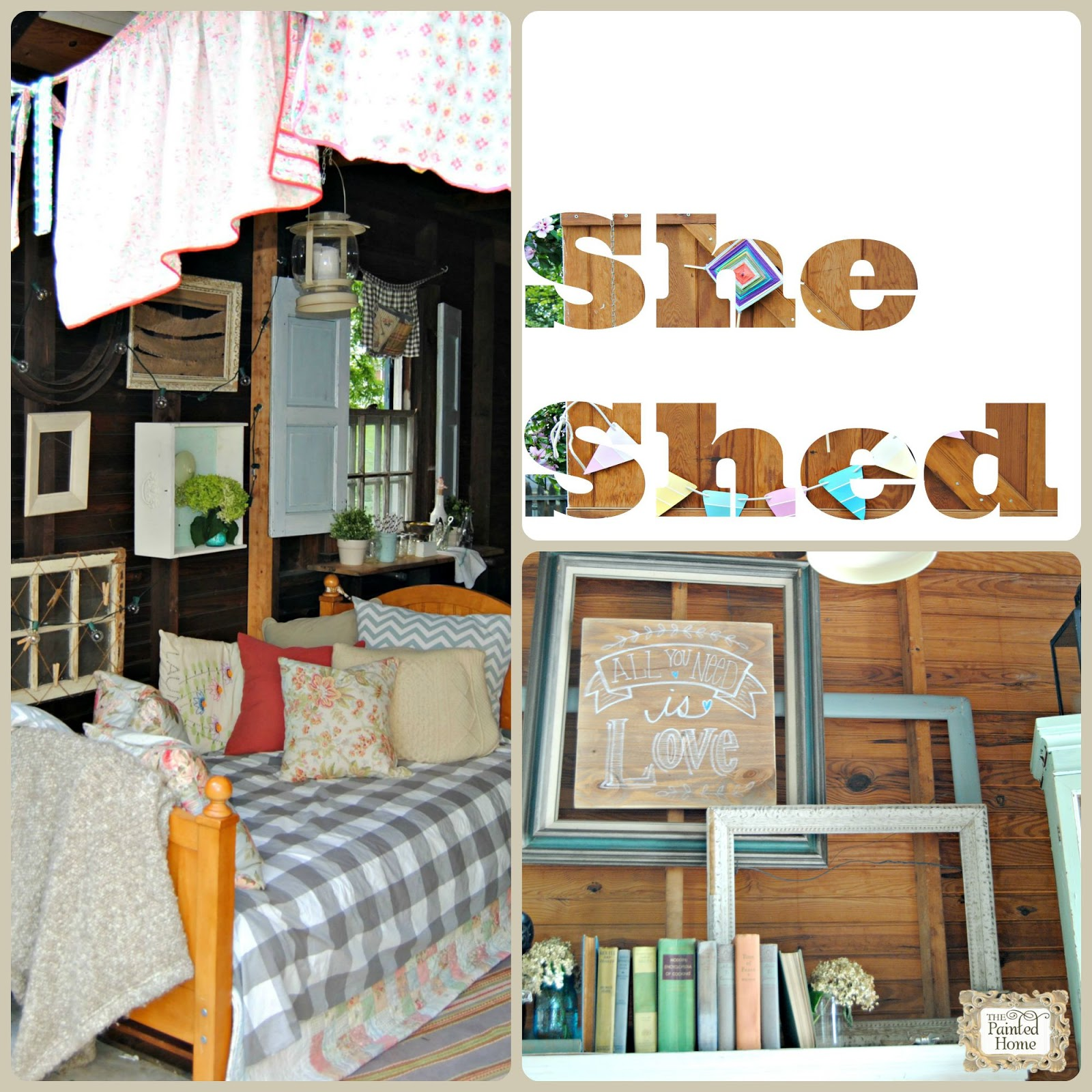 The Making of a She Shed