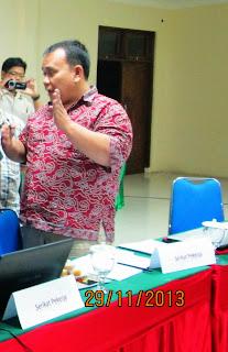 Teguh warich prabowo serikat pekerja linfox logistik Indonesia