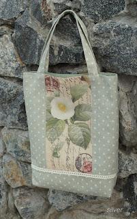 сумка текстиль летняя лен