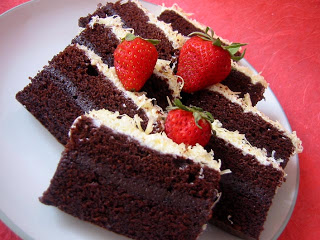 Resep Cake Coklat Iris
