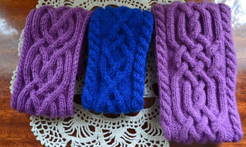 вязание повязки кос и жгутов спицами схемы