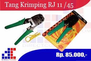 Tang Krimping RJ 11 & RJ 45